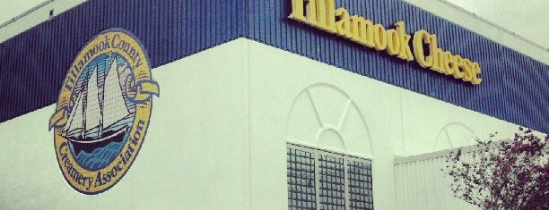 Tillamook Creamery is one of Scenic Route: US West Coast.
