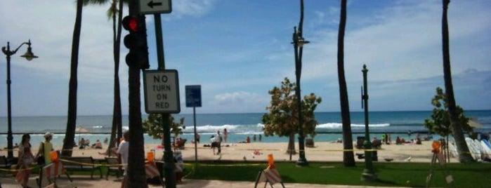 Waikīkī Beach Surf Spot is one of The Beaches in Hawaii.