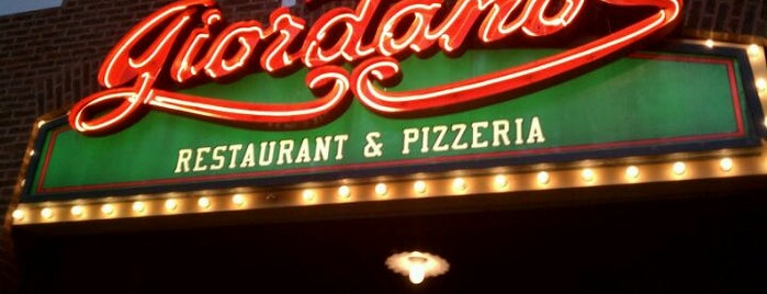Giordano's is one of Pizza Pizza Pizza.