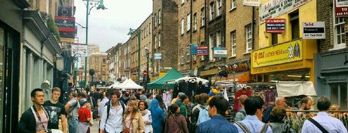 Brick Lane Market is one of À faire à Londres.
