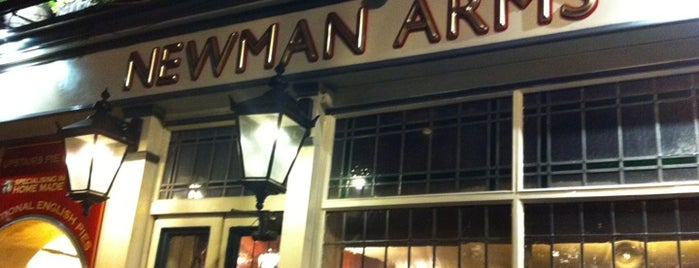 Newman Arms is one of blighty sights.