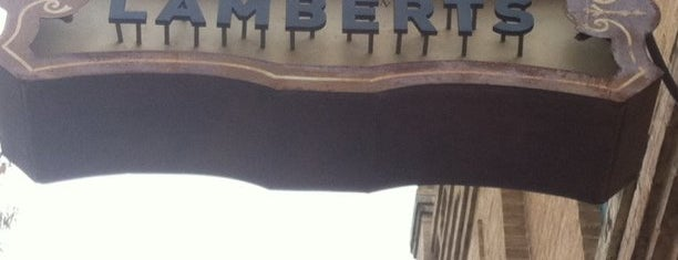 Lambert's Downtown BBQ is one of Austin to-dos.