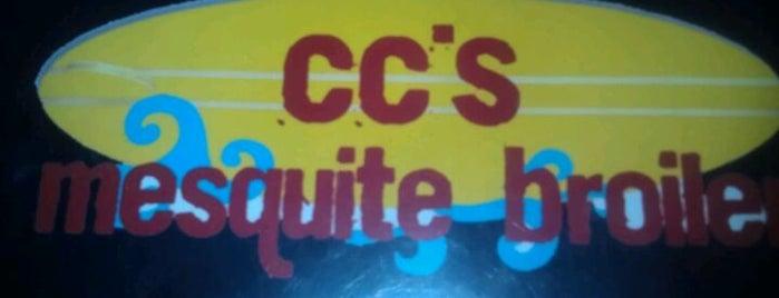 CC'S Mesquite Broiler is one of Lugares favoritos de Chuck.