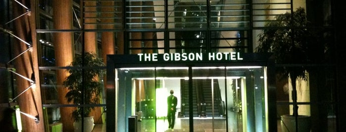 The Gibson Hotel is one of Lugares favoritos de Kerem.