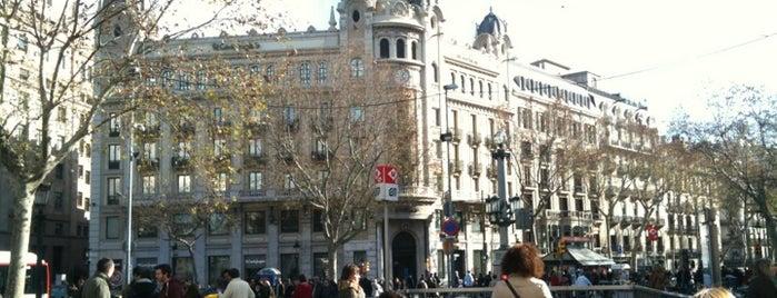 Cafè Zurich is one of Barcelona.