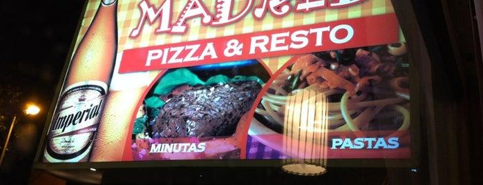 Madrid Pizza & Resto is one of Lieux sauvegardés par Federico.