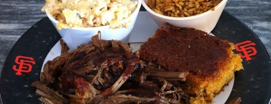 Baby Blues BBQ is one of SF Restaurants to Try.