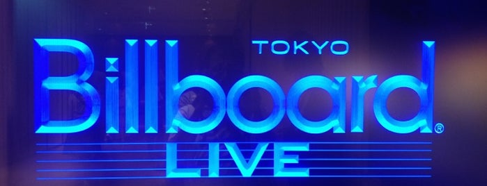 Billboard Live Tokyo is one of Japan.
