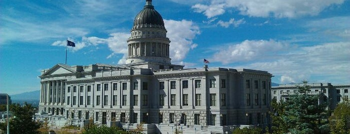 Utah State Capitol is one of The Crowe Footsteps.