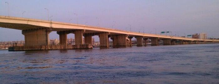 Cross Bay Veterans Memorial Bridge is one of Crossing the (Broad) Channel.