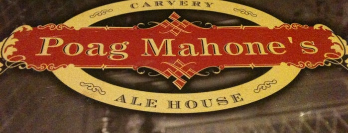 Poag Mahone's is one of Allagash on Tap.