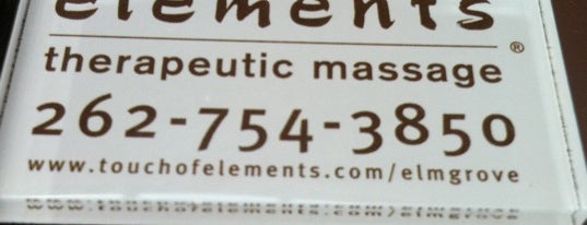 Elements Massage is one of milwaukee.