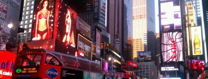 Times Square is one of NYC Midtown.