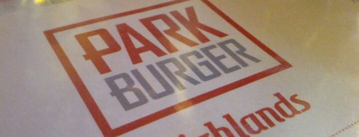 Park Burger is one of Burgers.