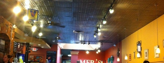 Amer's Mediterranean Deli is one of Ann Arbor Delivery.