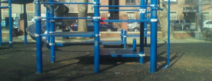 Sixteen Sycamores Playground is one of Where to play ball — Public Courts.