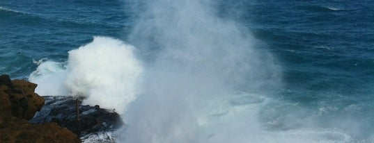 Hālona Blowhole Lookout is one of Oahu: The Gathering Place.