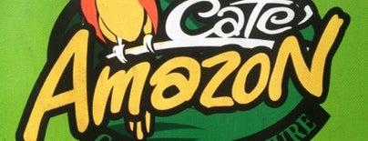 Café Amazon is one of Orte, die Lukman gefallen.