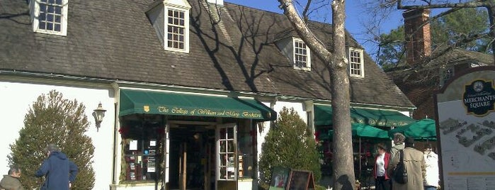 William & Mary Bookstore is one of Lugares favoritos de Bianca.
