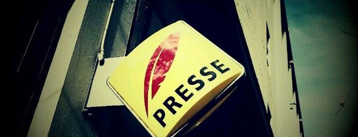 Café Presse is one of 2012 MLA Seattle.