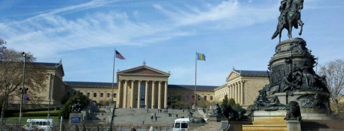 Philadelphia Museum of Art is one of Badge of Brotherly Love #visitUS.