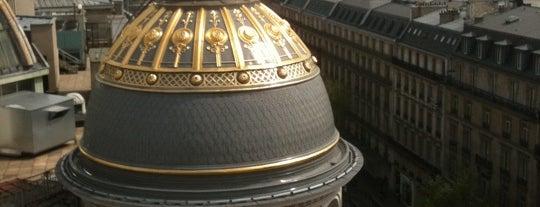 Terrasse du Printemps Haussman is one of Paris.