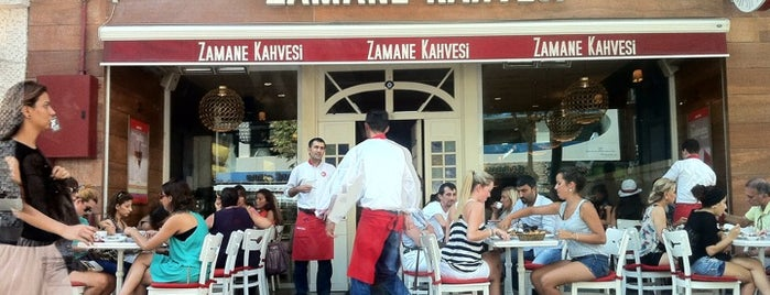 Zamane Kahvesi is one of istanbul cool places.