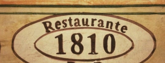 1810 Restaurante Bar is one of Jose Eduardo: сохраненные места.