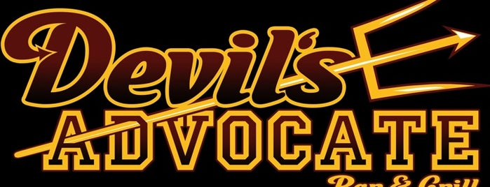 Devil's Advocate Bar and Grill is one of Tempe town what?.
