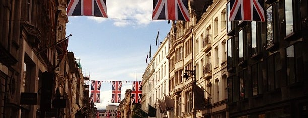 New Bond Street is one of London, UK.