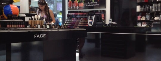 Inglot Cosmetics is one of NY & Brooklyn.