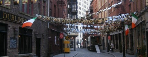 Stone Street Tavern is one of NYC Downtown.