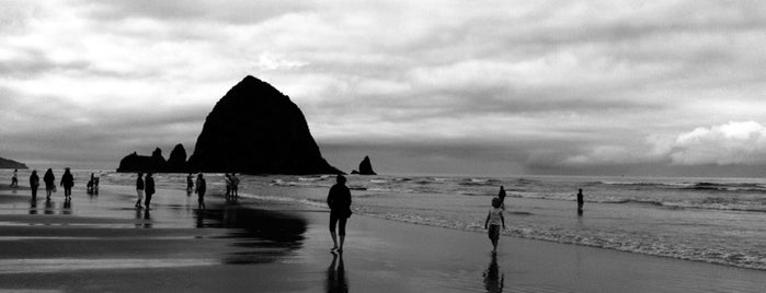 City of Cannon Beach is one of Stevenson Favorite US Beaches.