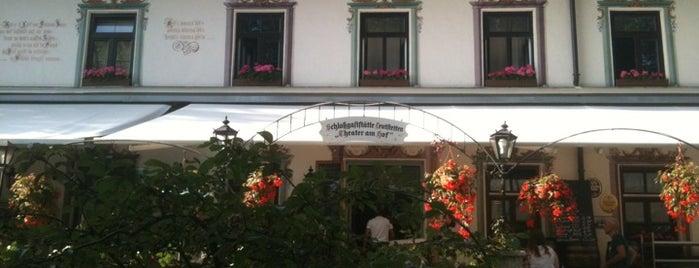 Schlossgaststätte Biergarten Leutstetten is one of Ausflüge.