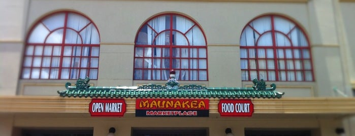 Maunakea Marketplace is one of O'ahu, Hawaii.