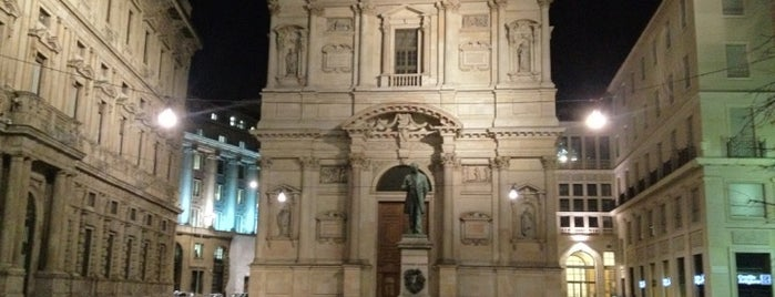 Piazza San Fedele is one of Gabriele d'Annunzio -  #ilVate4sq.