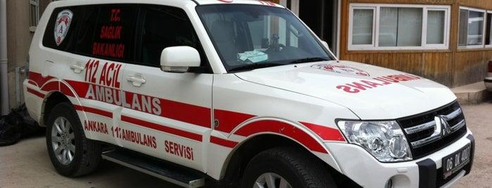 Ankara Valiliği İl Sağlık Müdürlüğü is one of Lieux sauvegardés par Hmyt.