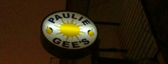 Paulie Gee's is one of Top 10 Pizzas in NYC.