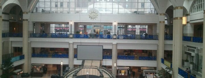 Tower City Center is one of Come C Cleveland! #VisitUs.