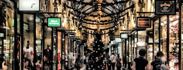 The Royal Arcade is one of Melbournes laneways.