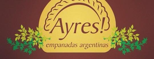 Ayres Empanadas Argentinas is one of Lugares para não esquecer de ir!!.