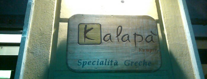 Kalapà is one of Street FOOD Gambero Rosso.