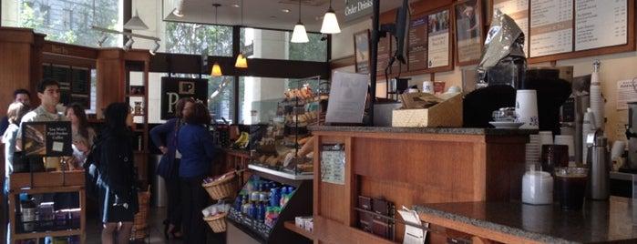 Peet's Coffee & Tea is one of SF coffee shops.