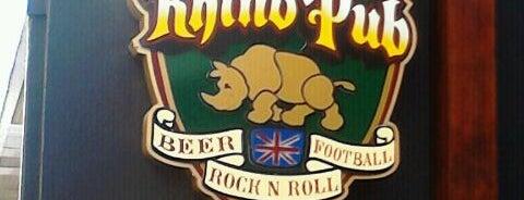 Rhino Pub is one of Pubs de São Paulo.