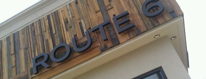 Route 6 Restaurant is one of Center City Sweet Spots.