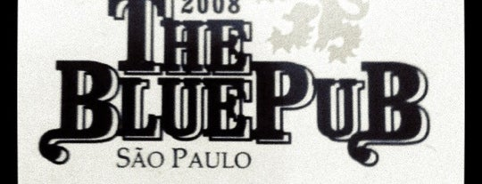 The Blue Pub is one of Bares e Cervejarias.