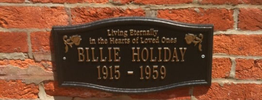Billie Holiday House is one of Historic Sites - Museums - Monuments - Sculptures.