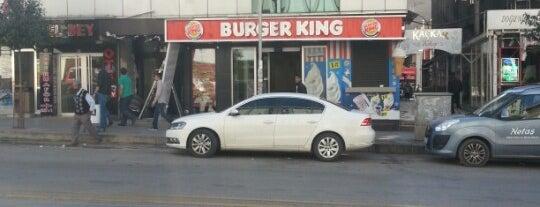 Burger King is one of Tempat yang Disukai Halil İbrahim.