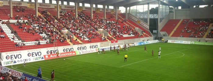 Sparda-Bank-Hessen-Stadion is one of Stadiums I've been to.
