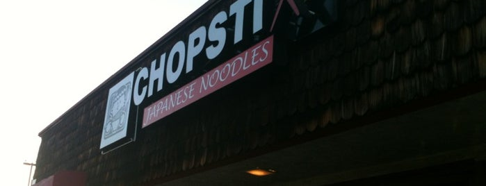 Chopstix is one of San Diego.